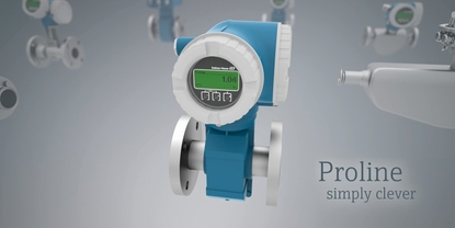 Proline Coriolis and electromagnetic flowmeters