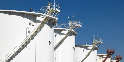 Increasing safety levels in storage tank in middle east
