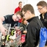 Robotics teams teach other students about their robot