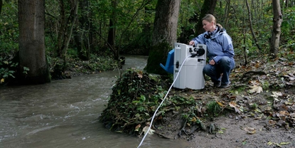 Traditional methods for monitoring surface water require researcher travel to challenging sites
