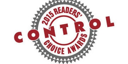 2015 Control magazine Readers' Choice awards